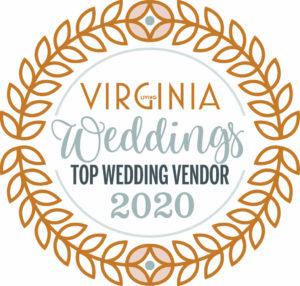 Virginia Weddings Top Wedding Vendor 2019 badge