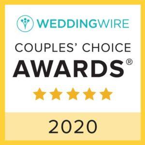 WeddingWire Couple's Choice Awards 2019 badge