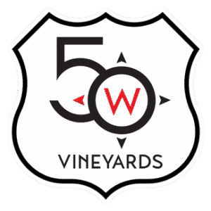 50 West Vineyards logo