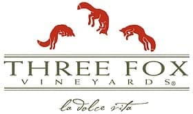 Three Fox Vineyards logo